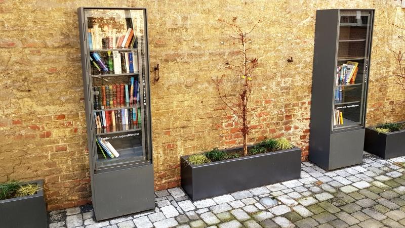 Offene Bücherschränke im Lesegarten - LokalKlick.eu